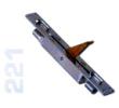 221 - Süllyeszthető, kétirányú tolózár, 24mm széles