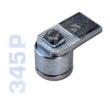 345P - Hegeszthető, csapágyazott felsó forgáspont, 45mm-es