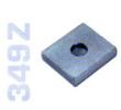 349Z - Forgáspont acél tüskékhez 20mm-es, horganyzott