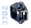 370Z - Hegeszthető, állítható forgáspont, zsanér, szárnyas kapukhoz, horganyzott