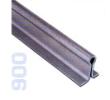 900 - Omega sín D=16mm, betonozható, 6fm-es toló kapukhoz