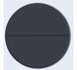 Csillag Garázskapu 2440 x2110mm-es 4 cm szigetelésű szekcionált garázskapu Antracit Széles bordás +Starset MOTOR 2db távirányító
