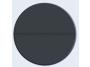 Csillag Garázskapu 2470 x2110mm-es 4 cm szigetelésű szekcionált garázskapu Antracit Széles bordás +Starset MOTOR 2db távirányító