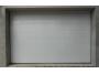 Csillag Garázskapu 2500 x2110mm-es 4 cm szigetelésű szekcionált kapu Fehér Széles bordás +Starset MOTOR 2db távirányítóval